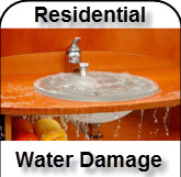 Residential Water Damage Restoration