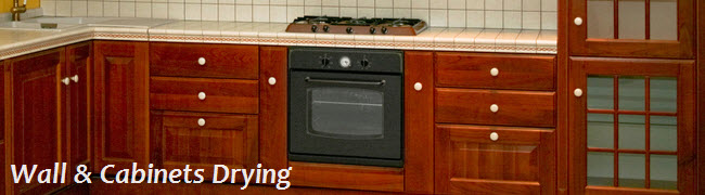 Wall and Cabinet Drying Services in New Jersey