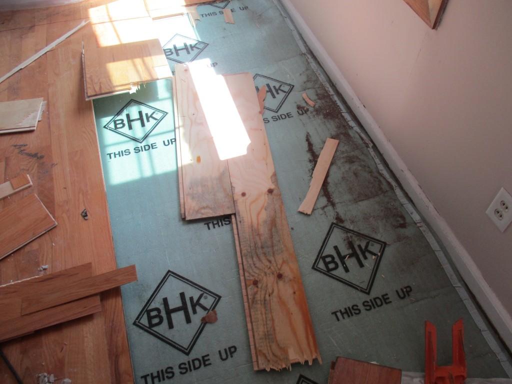 Hardwood Floor Removal