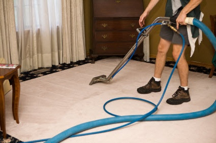 Wet carpet water extraction service Hope New Jersey