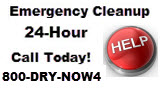 water damage restoration emergency