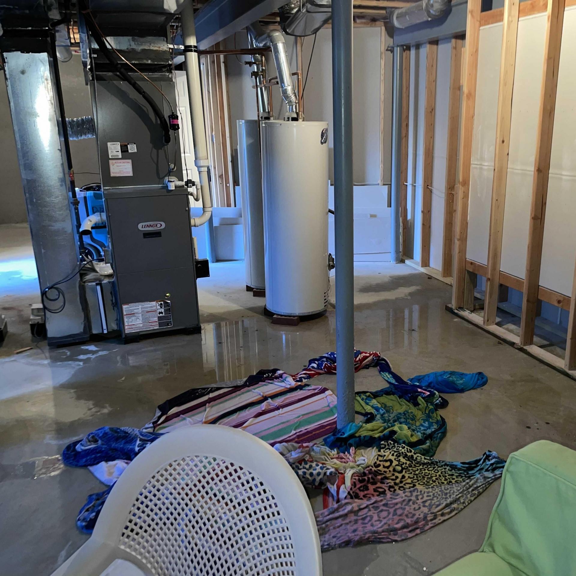 Refrigerator Leak Water Damage in Freehold, NJ