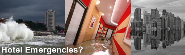 Hotel Water Damage Restoration NJ NY CT PA