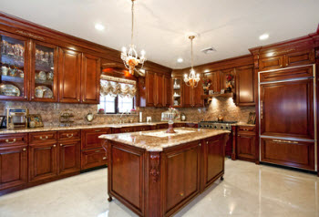 Kitchen Marble Floor