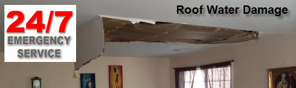 Roof Water Damage Repair
