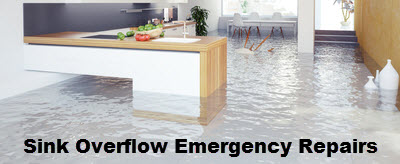 Sink Overflow Emergency Repairs