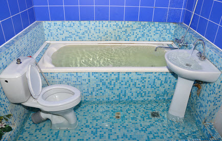 Toilet, Sink, Shower and Bathtub Overflow Cleanup NJ, NY