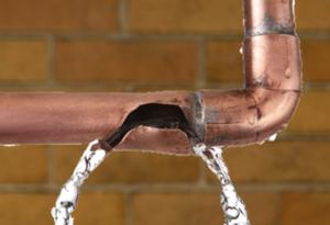 Burst Pipe Water Damage NJ