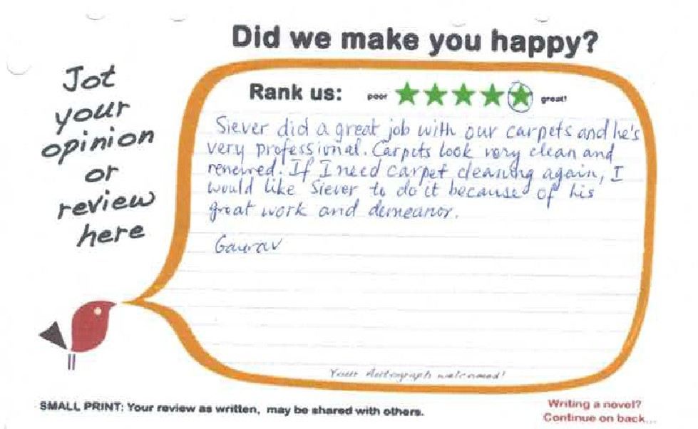 Carpet Cleaning Marlboro Review
