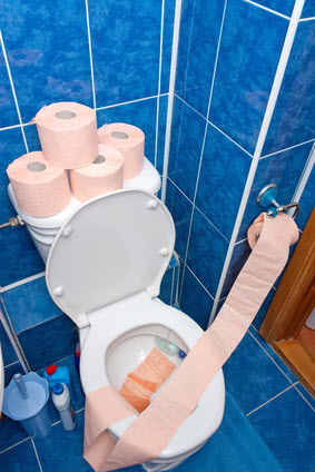Causes of sewage problems