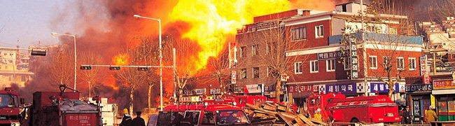Fire smoke soot damage repair