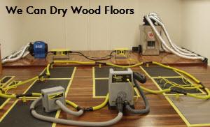 Hardwood floor drying nj