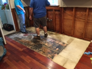 Water Damage cleanup Monmouth County