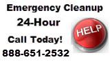 water damage restoration emergency