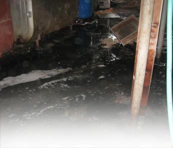Sewer backup cleanup Saddle River