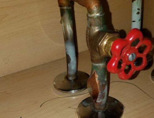 Broken Water Pipe – Master Bedroom- Robbinsville, NJ