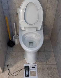 Toilet overflow water damage restoration