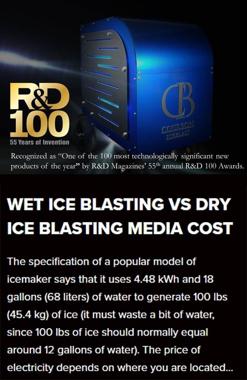 Ice Blasting Cleaning Service Central NJ
