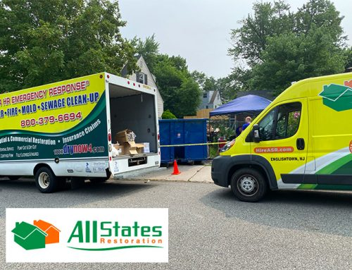Bio-Hazard Damage Clean Up in South Bound Brook, NJ – Basement Clean Out