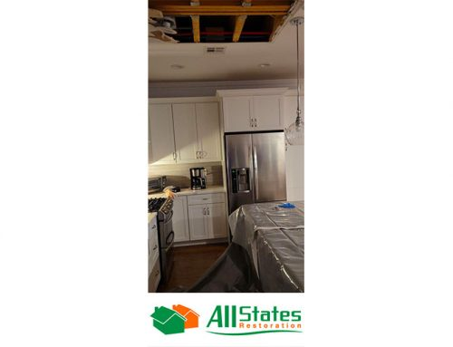 Laundry Room Water Damage in Point Pleasant , NJ- Washer Machine Overflow