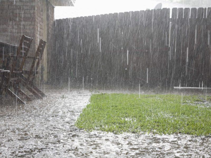 Rain water caused basement flooding in Princeton, NJ