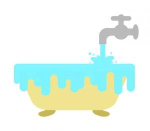 Monroe Bathtub Line leak