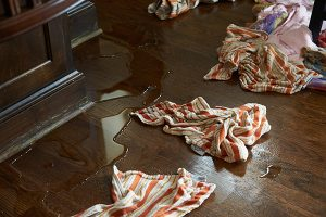 flooded Kitchen in manalapan