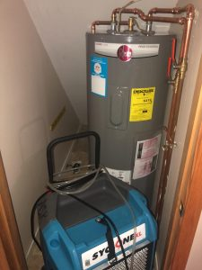 Hot water heater leak in Pine Beach