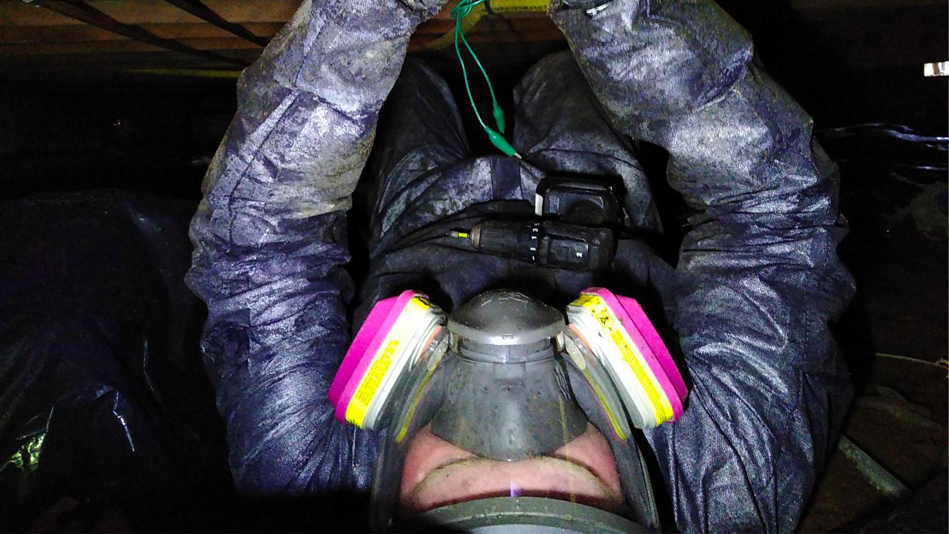 AllStates Restoration Crawl Space Leak
