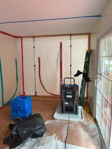 Roof Leak Drying Chambers