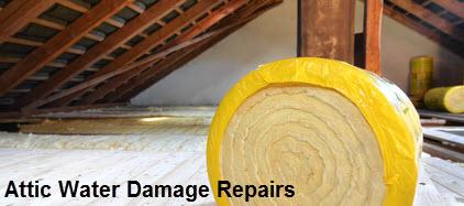 Attic Water Damage Repair
