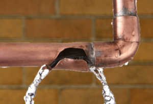 Leaking Burst Pipes Ceiling Water Damage Repair NJ