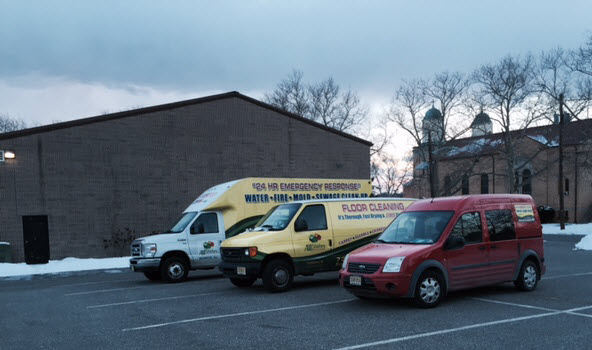 Church Water Damage Cleanup and Restoration Services