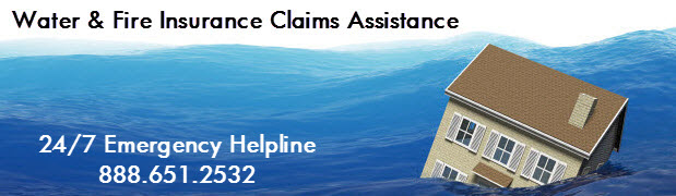 Home Water Damage Insurance Claims Repairs