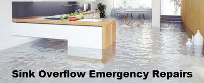Sink Overflow Emergency Repairs