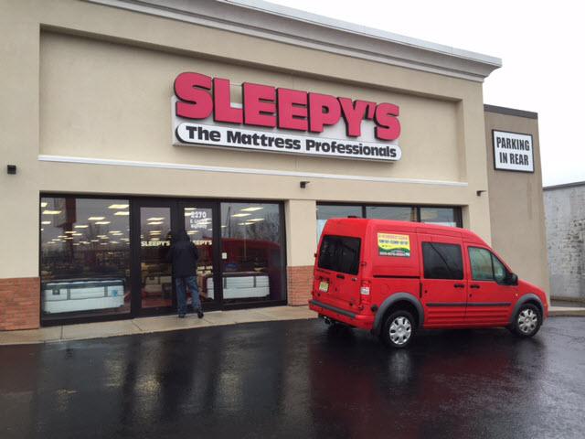Sleepy's Store Water Damage
