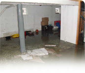 Water Damage caused by Sump Pump Failure NJ