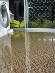 Water Damage caused by Washing Machine Leak NJ