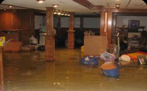 heat pump leaking water in basement