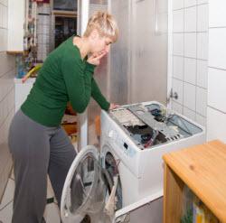 washing machine malfunction leaking repairs
